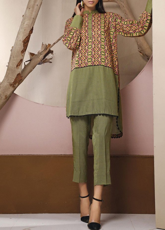Heena by Ittehad Textiles Printed Linen Unstitched 2 Piece Suit ITD20HL 1913-C - Summer Collection