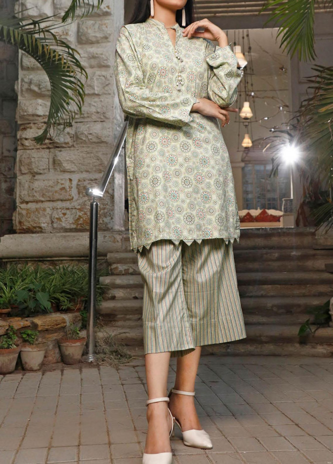 Ittehad Textiles Printed Cotton Unstitched 2 Piece Suit ITD20FC 2102A - Summer Collection