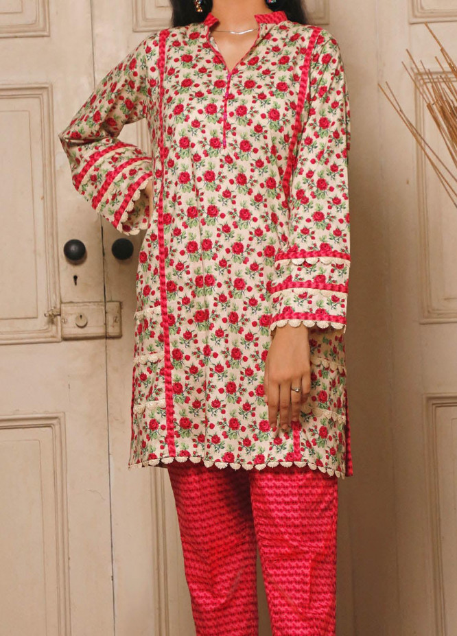 Ittehad Textiles Printed Cotton Unstitched 2 Piece Suit ITD20FC 2104A - Summer Collection