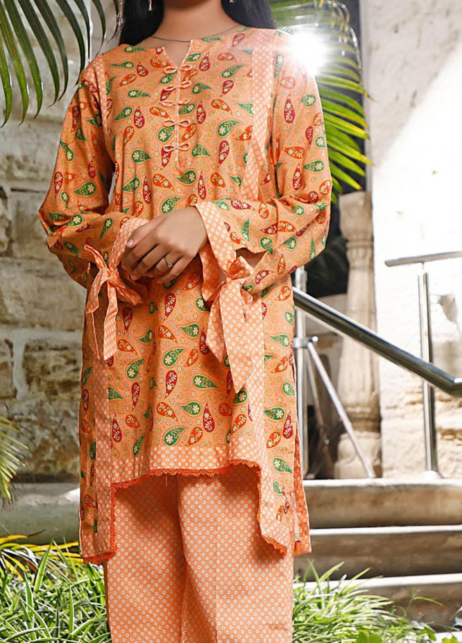 Ittehad Textiles Printed Cotton Unstitched 2 Piece Suit ITD20FC 2105A - Summer Collection