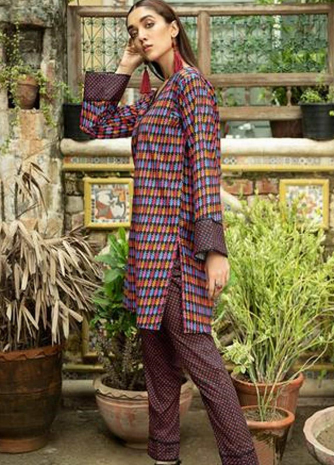 Ittehad Textiles Printed Cotton Unstitched 2 Piece Suit ITD20FC 2119A - Summer Collection