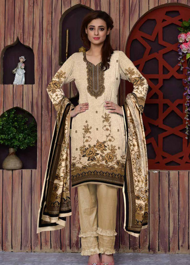 Ittehad Textiles Printed Lawn Unstitched 3 Piece Suit ITD20CL 64C - Summer Collection