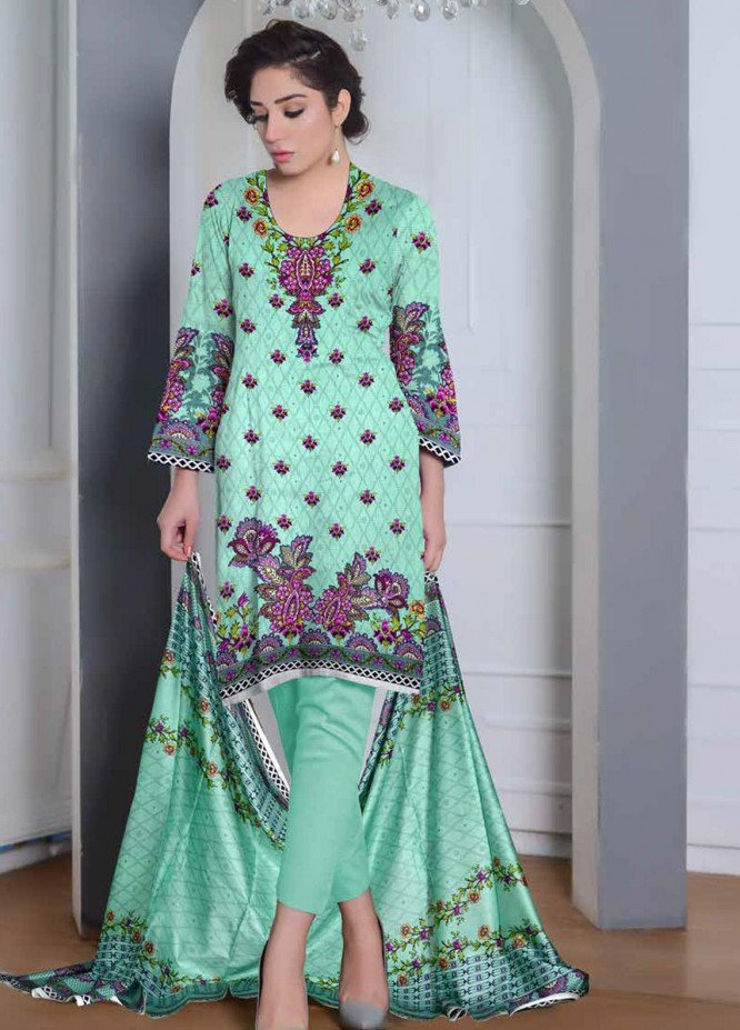 Ittehad Textiles Printed Lawn Unstitched 3 Piece Suit ITD20CL 65B - Summer Collection
