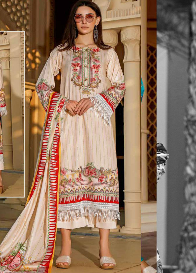 Ittehad Textiles Printed Lawn Unstitched 3 Piece Suit ITD20CS 46B - Summer Collection