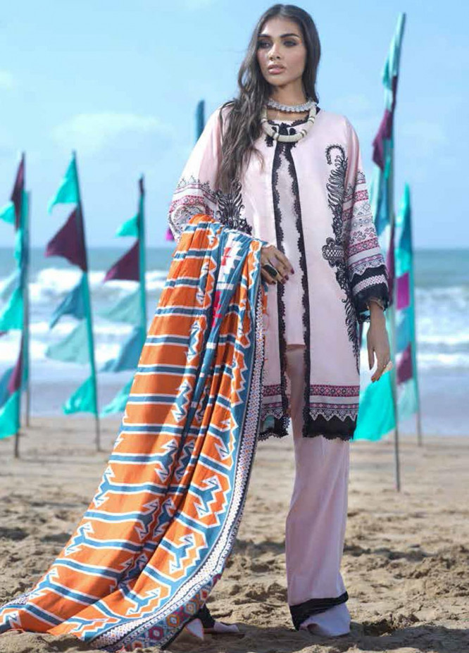 Ittehad Textiles Embroidered Cotton Unstitched 3 Piece Suit ITD20FW 08 ETIENNE - Winter Collection