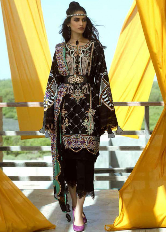 Ittehad Textiles Embroidered Linen Unstitched 3 Piece Suit ITD20FW 24 WHIMSICAL CHARM - Winter Collection