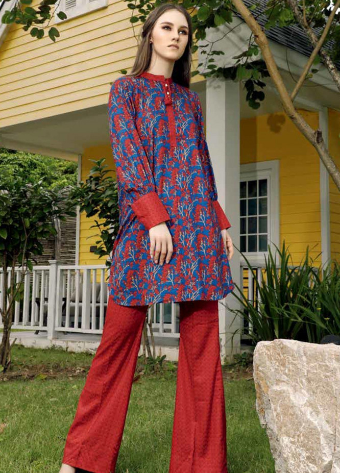 Ittehad Textiles Printed Linen Unstitched 2 Piece Suit ITD19HL 02A - Winter Collection