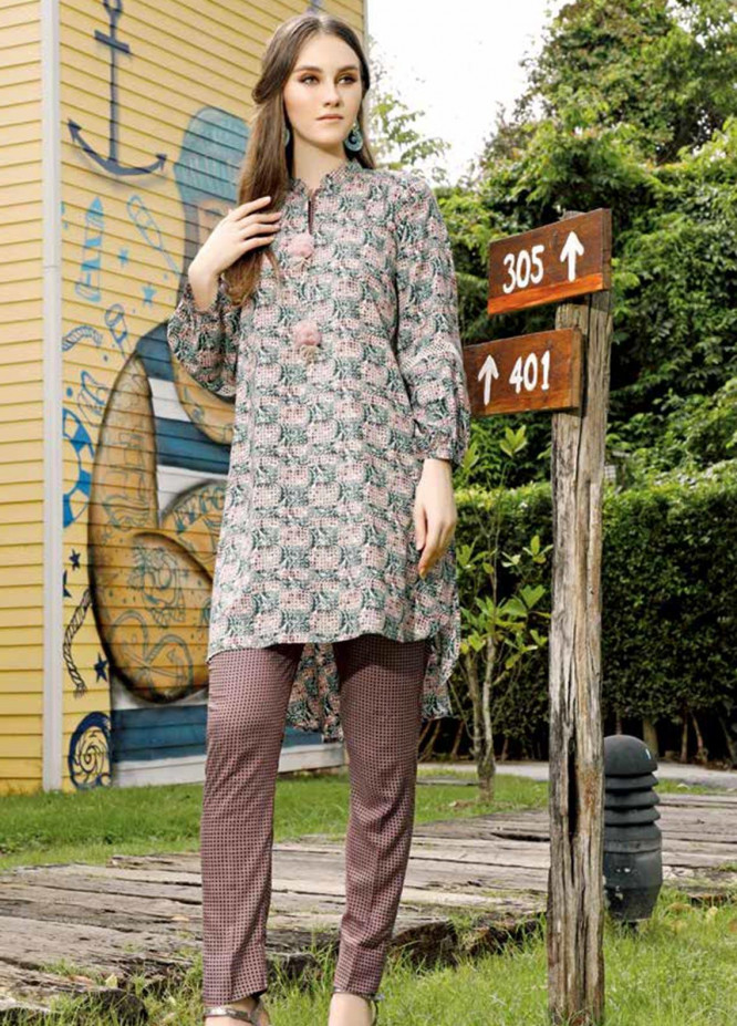 Ittehad Textiles Printed Linen Unstitched 2 Piece Suit ITD19HL 04A - Winter Collection