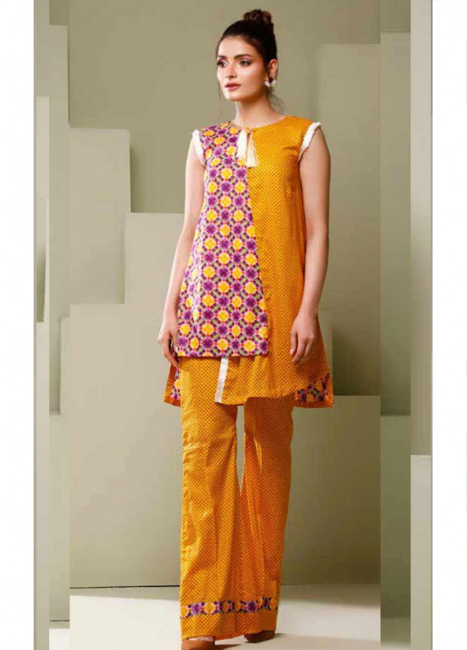 Ittehad Textiles Printed Lawn Unstitched 2 Piece Suit ITD20MS 004C - Summer Collection