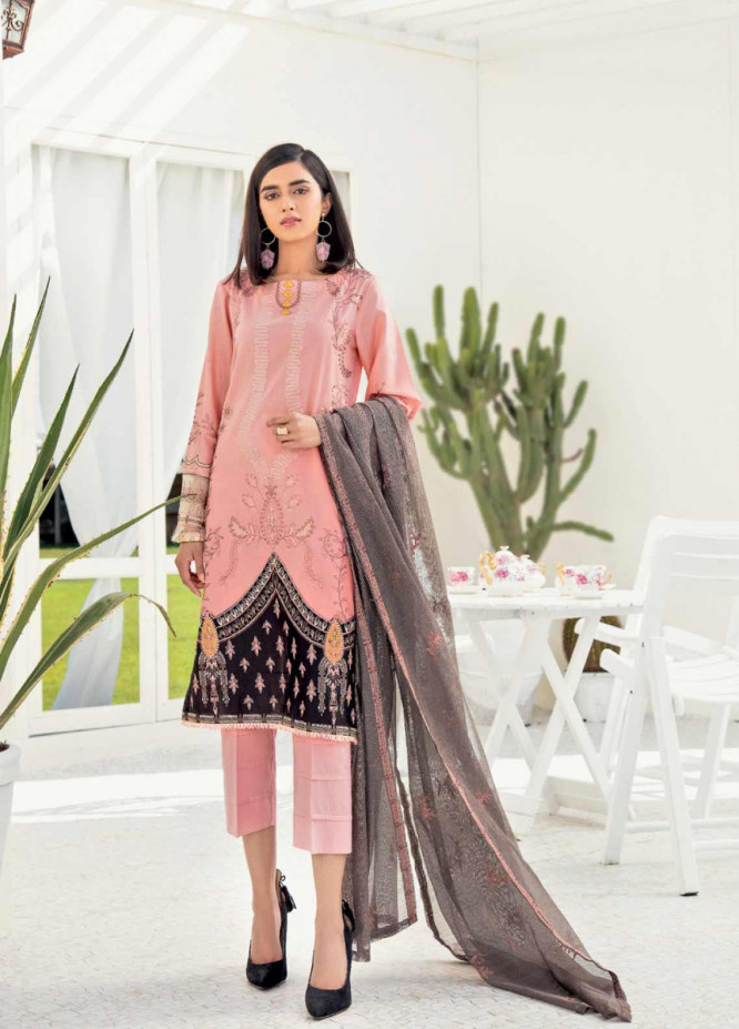 Iznik Embroidered Lawn Unstitched 3 Piece Suit IZ20C 02 Candy - Summer Collection