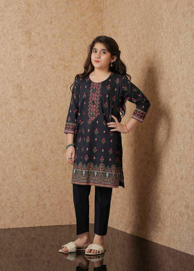 Waniya Lawn Printed Girls 2 Piece Suit -  WKA20-02