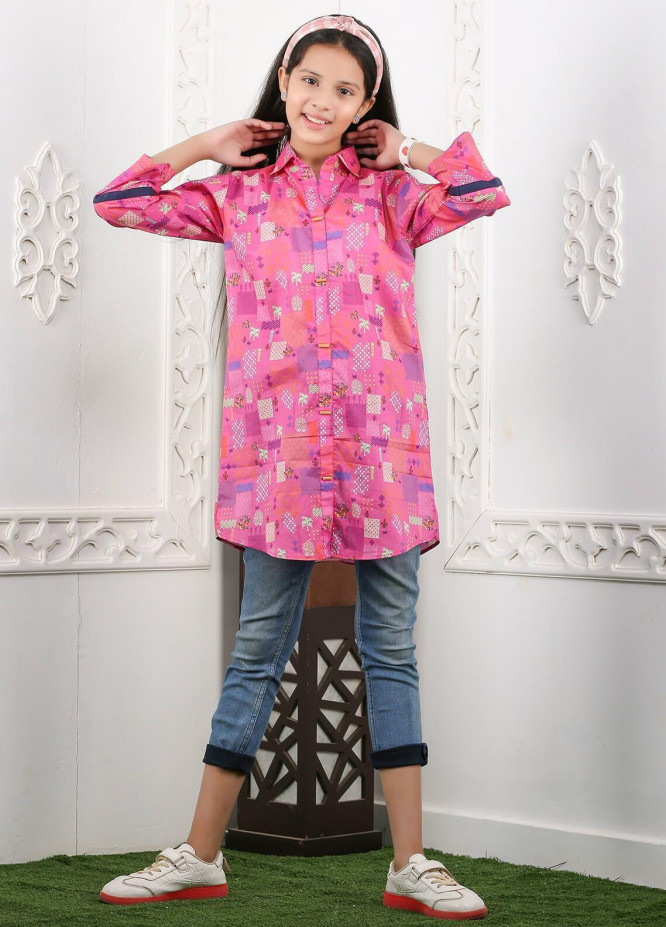 Waniya Cotton Printed Kurtis for Girls -  WKA20-15