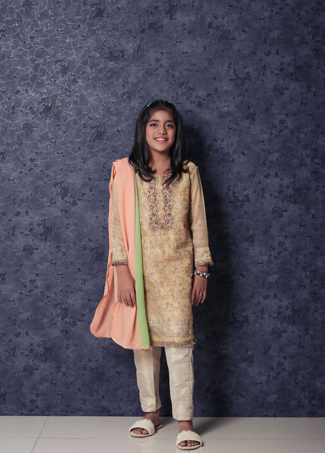 Nargis Shaheen Missouri Formal Girls 3 Piece Suit - NSK-018