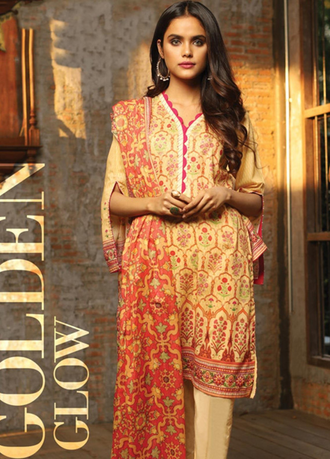 Lakhany Printed Lawn Unstitched 3 Piece Suit KL20LSM 06 - Spring / Summer Collection