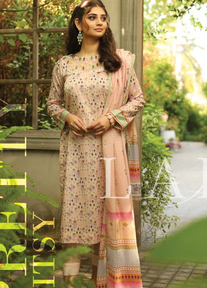 Lakhany Printed Lawn Unstitched 3 Piece Suit KL20LSM 27 - Spring / Summer Collection