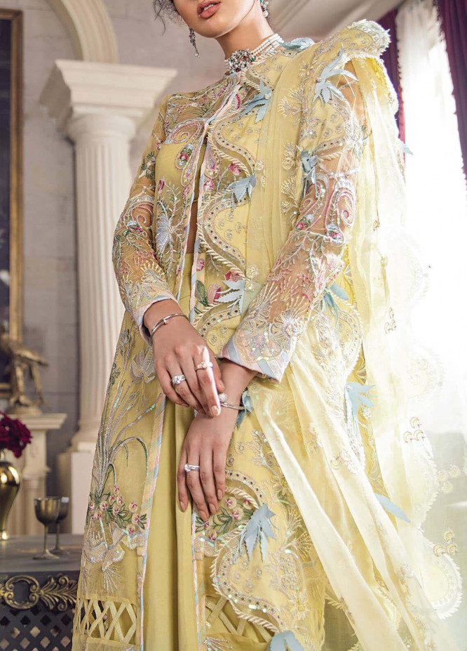 Lere Du Luxe by Republic WomensWear Embroidered Organza Unstitched 3 Piece Suit RW20LL LU-03 - Luxury Collection