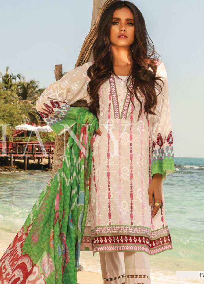 Lakhany Embroidered Lawn Unstitched 3 Piece LSM20SS 2033 - Summer Collection