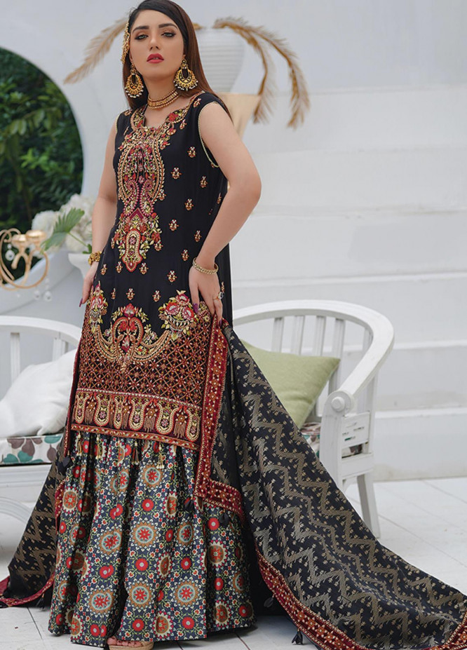Mah-e-Meer by Anamta Embroidered Chiffon Unstitched 3 Piece Suit ANT20MM S-4 SONI - Luxury Collection