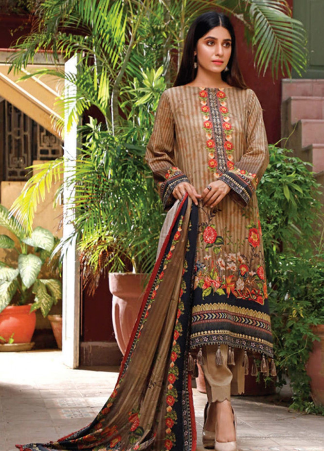 Malhar Printed Lawn Unstitched 3 Piece Suit ML20D 233-A - Spring / Summer Collection