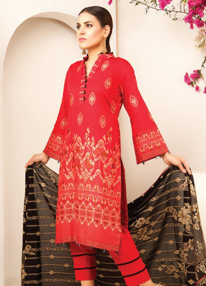 MTF Banarsi Lawn Unstitched 3 Piece Suit MTF20JF MTF 06 - Spring / Summer Collection