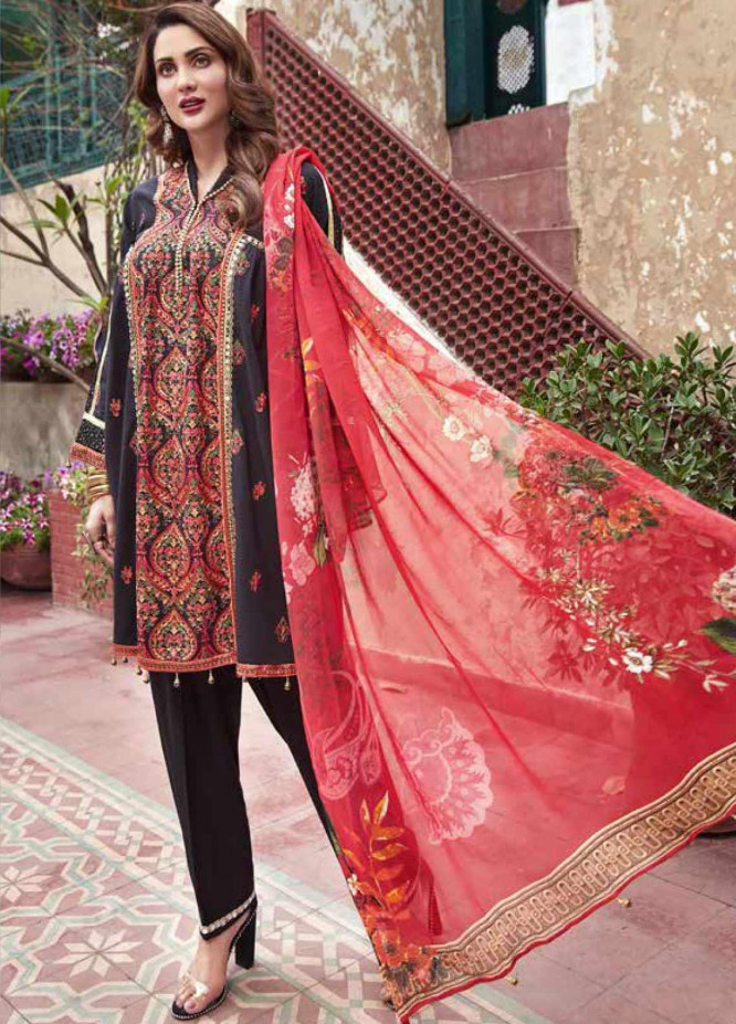 Mushk by Mohagni Embroidered Lawn Unstitched 3 Piece Suit MO20MU SE 01 - Spring / Summer Collection