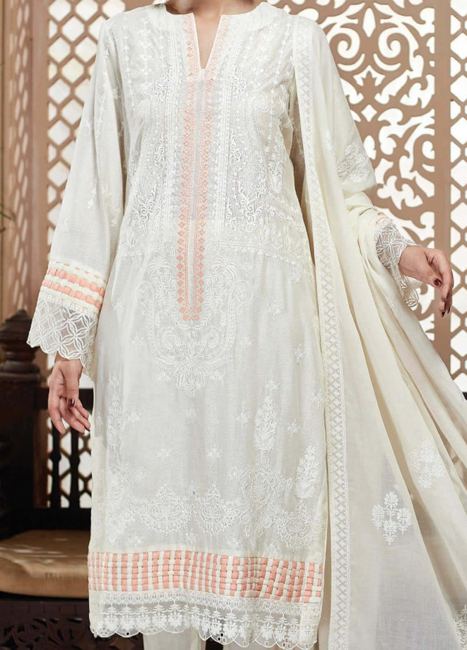 Nafasat by Resham Ghar Embroidered Lawn Unstitched 3 Piece Suit RG20N RGS-09 - Luxury Collection