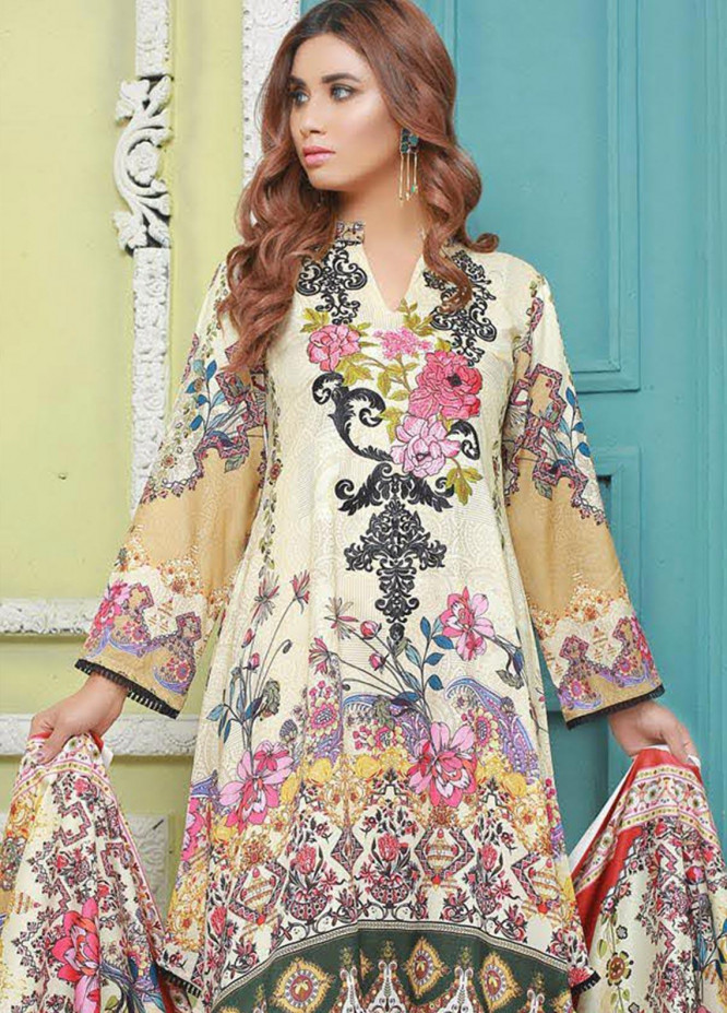 Master Fabrics Printed Jacquard Unstitched 3 Piece Suit MF20-DS8 19747 - Formal Collection