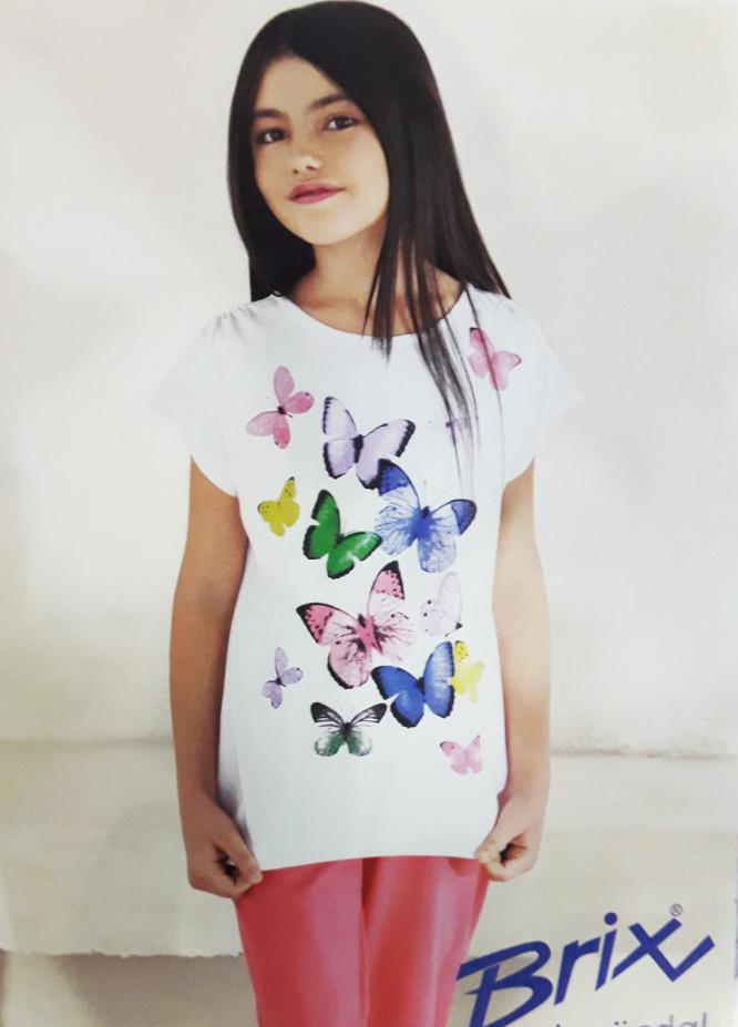 Cotton Net Kids Nightwear 2 Piece NS18K 7506 WHITE