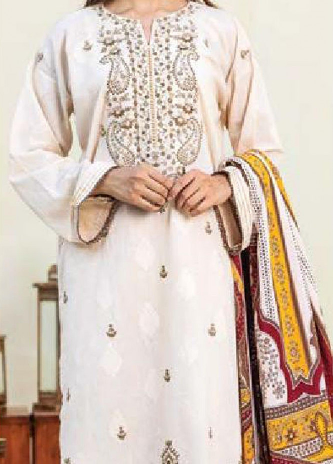 MYSA by Orient Embroidered Karandi Unstitched 3 Piece Suit OT20-MW2 187 B - Winter Collection
