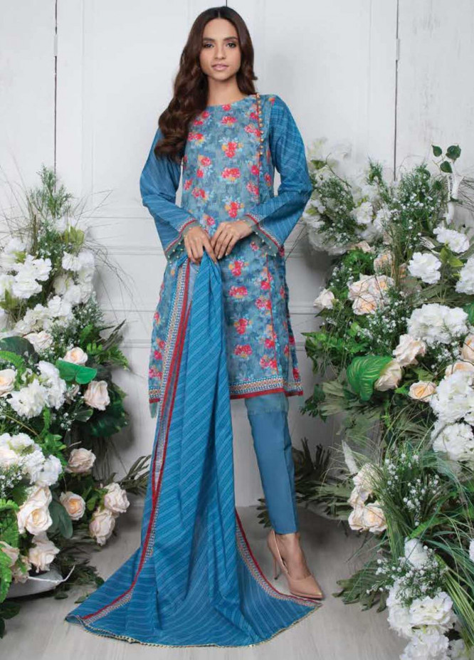 Orient Textile Printed Lawn Unstitched 3 Piece Suit OT20SS 065 - Spring / Summer Collection