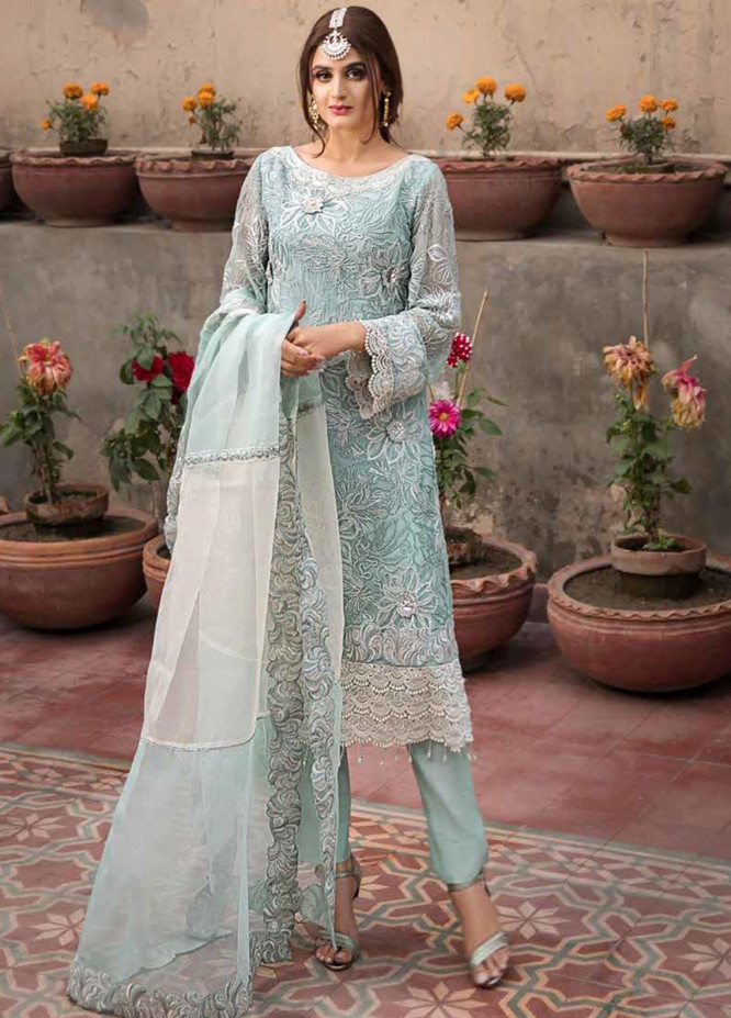 Rang e Bahar by Motifz Embroidered Chiffon Unstitched 3 Piece Suit RB20MT 02348 - Luxury Collection