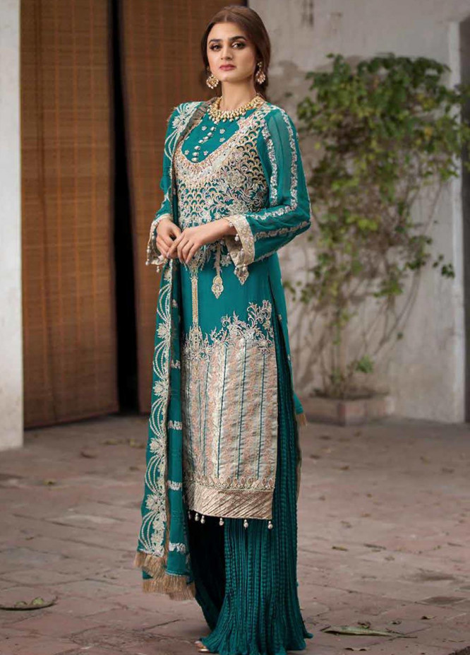 Rang e Bahar by Motifz Embroidered Chiffon Unstitched 3 Piece Suit RB20MT 02355 - Luxury Collection
