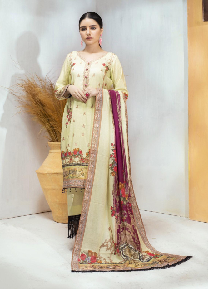 Regalia Textiles Embroidered Lawn Unstitched 3 Piece Suit RG20D-3 5 - Spring / Summer Collection