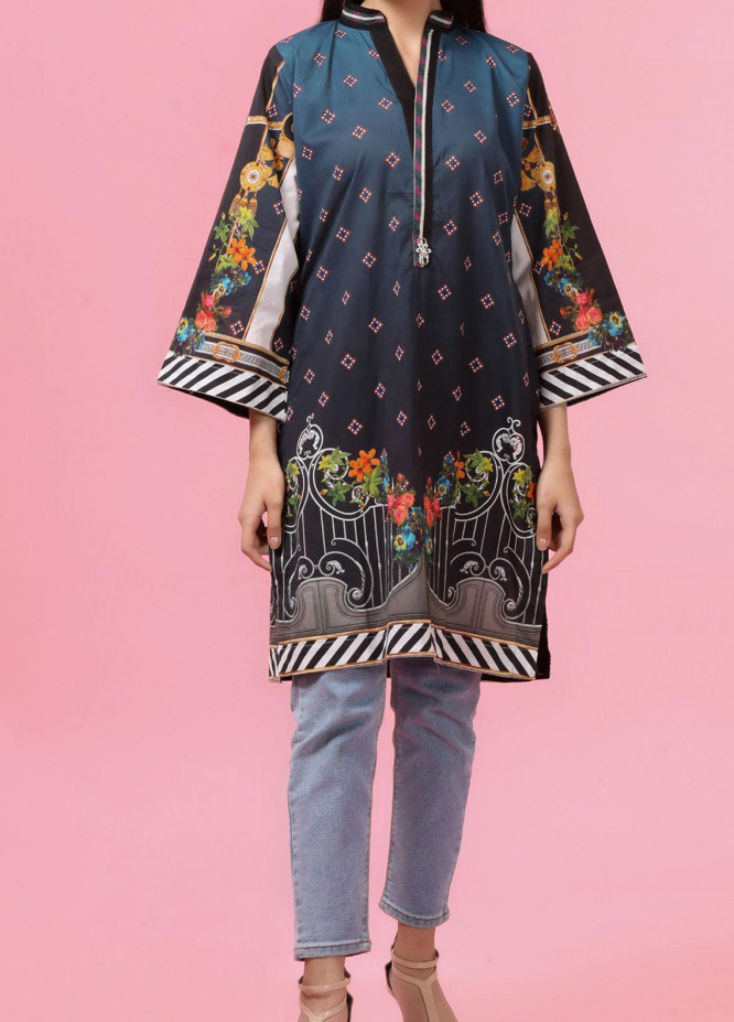 Regalia Textiles Printed Lawn Unstitched Kurties RG20T 4 D-01 - Spring / Summer Collection