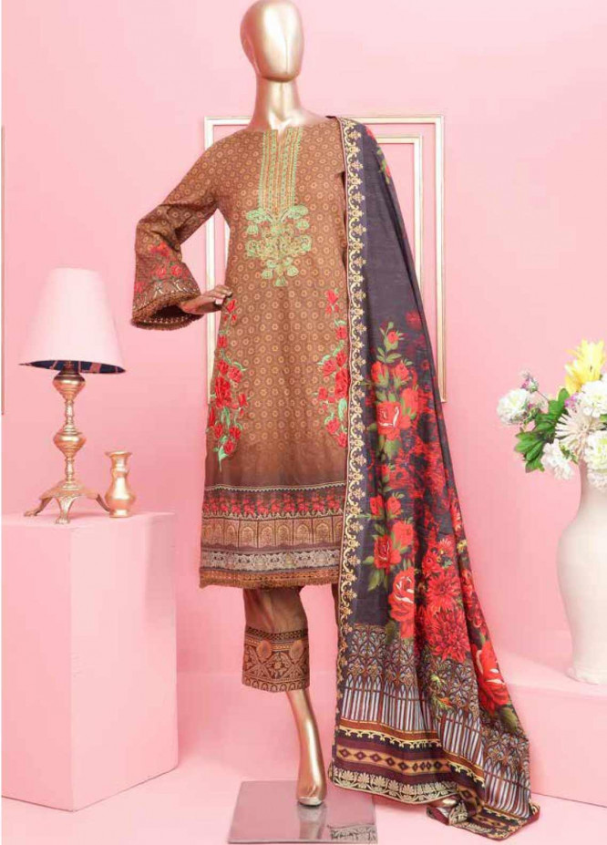 Rung by Al Zohaib Embroidered Lawn Unstitched 3 Piece Suit AZ20-RL2 11 - Spring / Summer Collection
