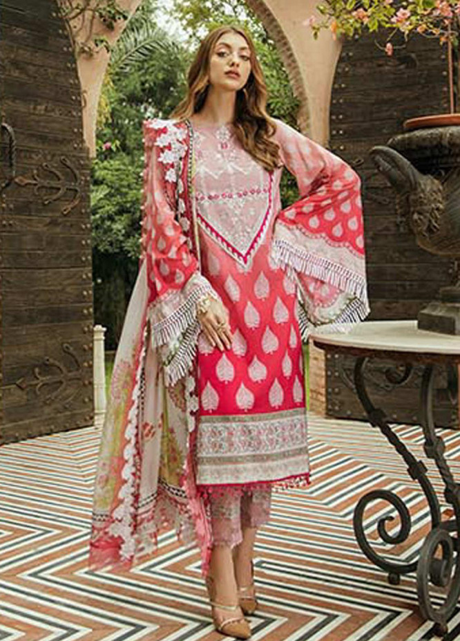Saira Rizwan Embroidered Lawn Unstitched 3 Piece Suit SR20L-2 02 KAIRA - Spring / Summer Collection