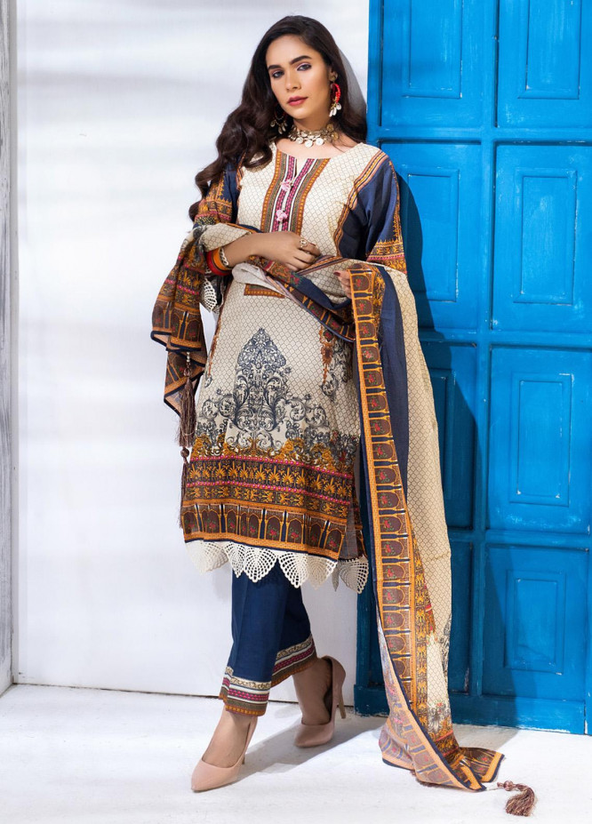 Salina by Regalia Textiles Printed Lawn Unstitched 3 Piece Suit SP20RG 07 - Summer Collection