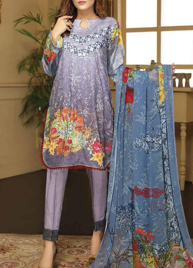 Sanam Saeed by Puri Fabrics Embroidered Viscose Unstitched 3 Piece Suit SS20CK 01 - Winter Collection