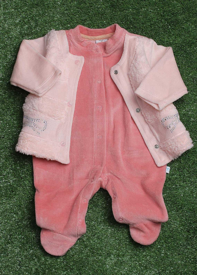Sanaulla Exclusive Range  Fancy Rompers for Girls -  1104 Pink