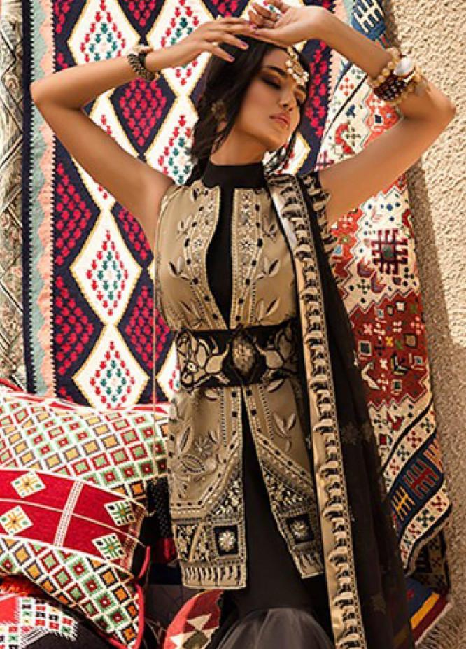 Sanaulla Exclusive Range Embroidered Silk Stitched 3 Piece EL19F 07 ARYANA