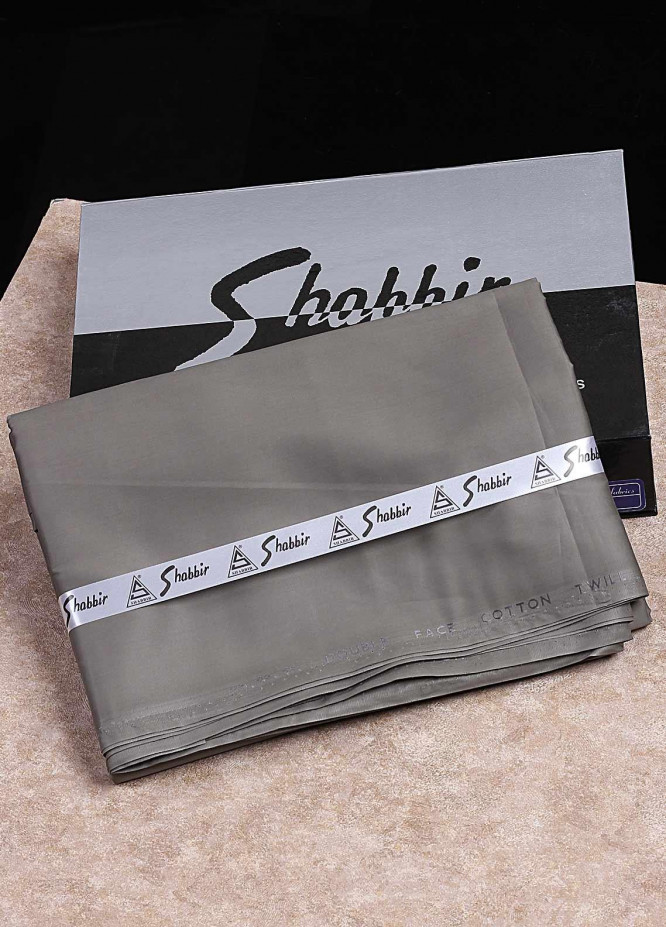Shabbir Textile Plain Cotton Unstitched Fabric SCH-0052 Liht Brown - Summer Collection