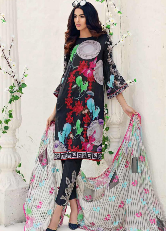 Sheen by Charizma Embroidered Lawn Unstitched 3 Piece Suit SHN20L 011 - Summer Collection