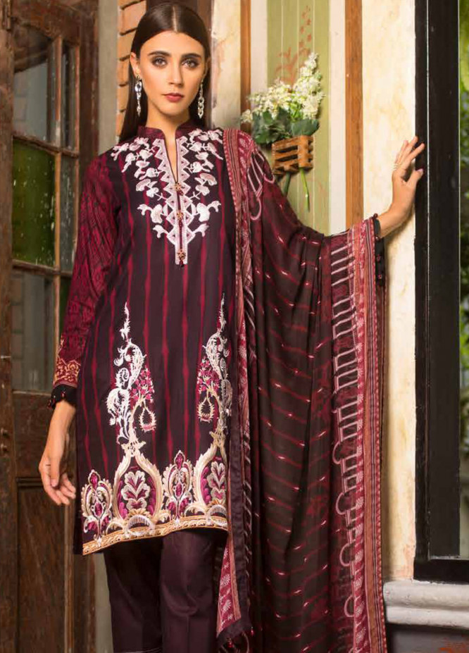 Al Zohaib Embroidered Lawn Unstitched 3 Piece Suit AZS19L 3A - Spring / Summer Collection