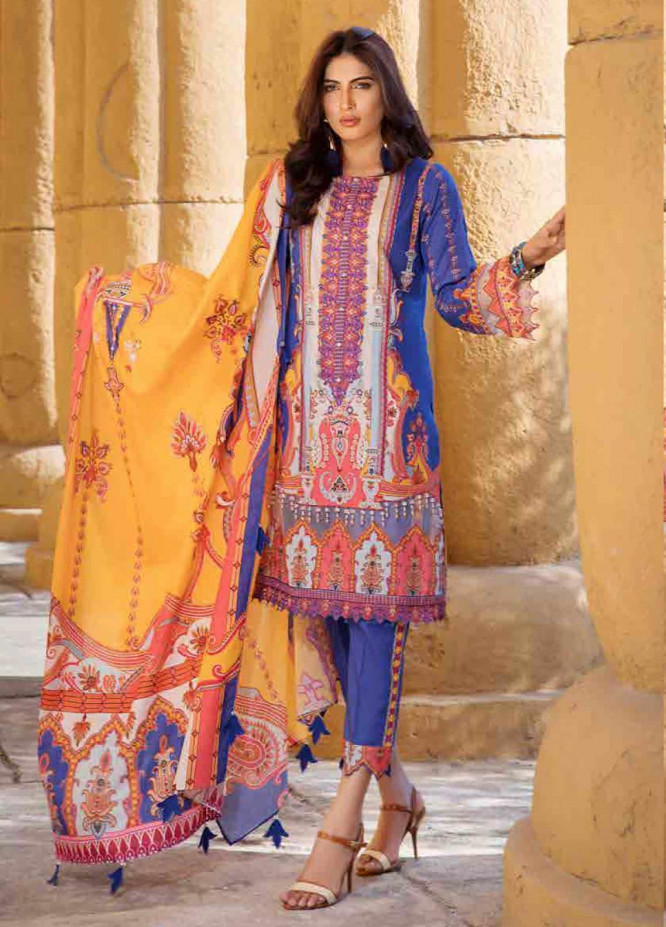 Umang by Motifz Embroidered Lawn Unstitched 3 Piece Suit MT20U 2526 - Summer Collection