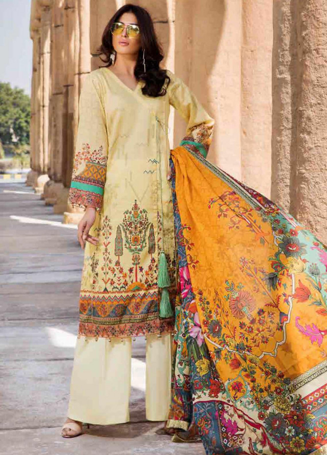 Umang by Motifz Embroidered Lawn Unstitched 3 Piece Suit MT20U 2533 - Summer Collection