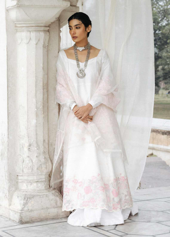 Zara Shahjahan Embroidered Lawn Unstitched 3 Piece Suit ZSJ20GL MEHRUN NISA-B - Spring / Summer Collection