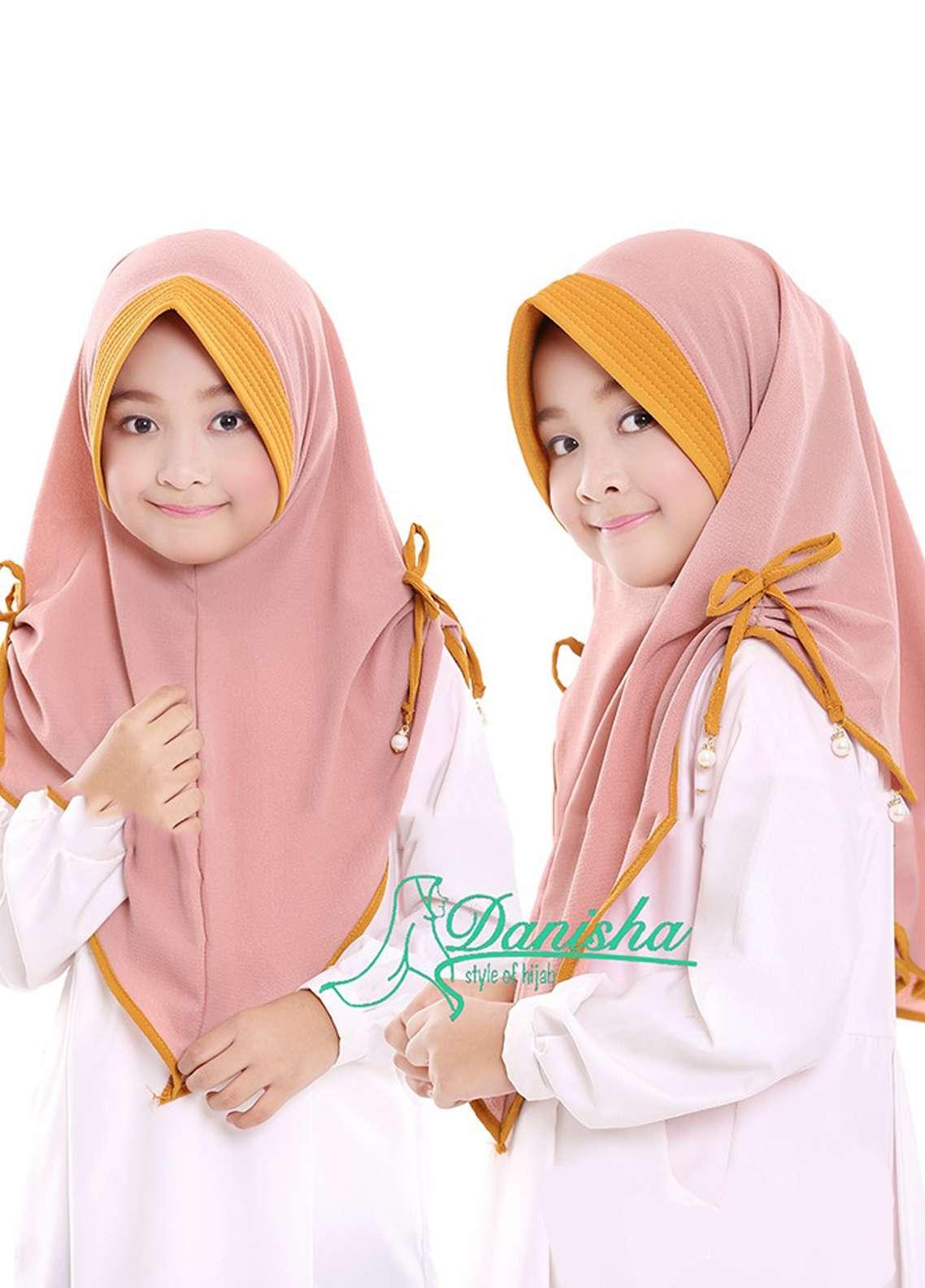 Danisha | Style of Hijab  Bubble Pop  Girls Scarves HH Danisha 04 Mocca