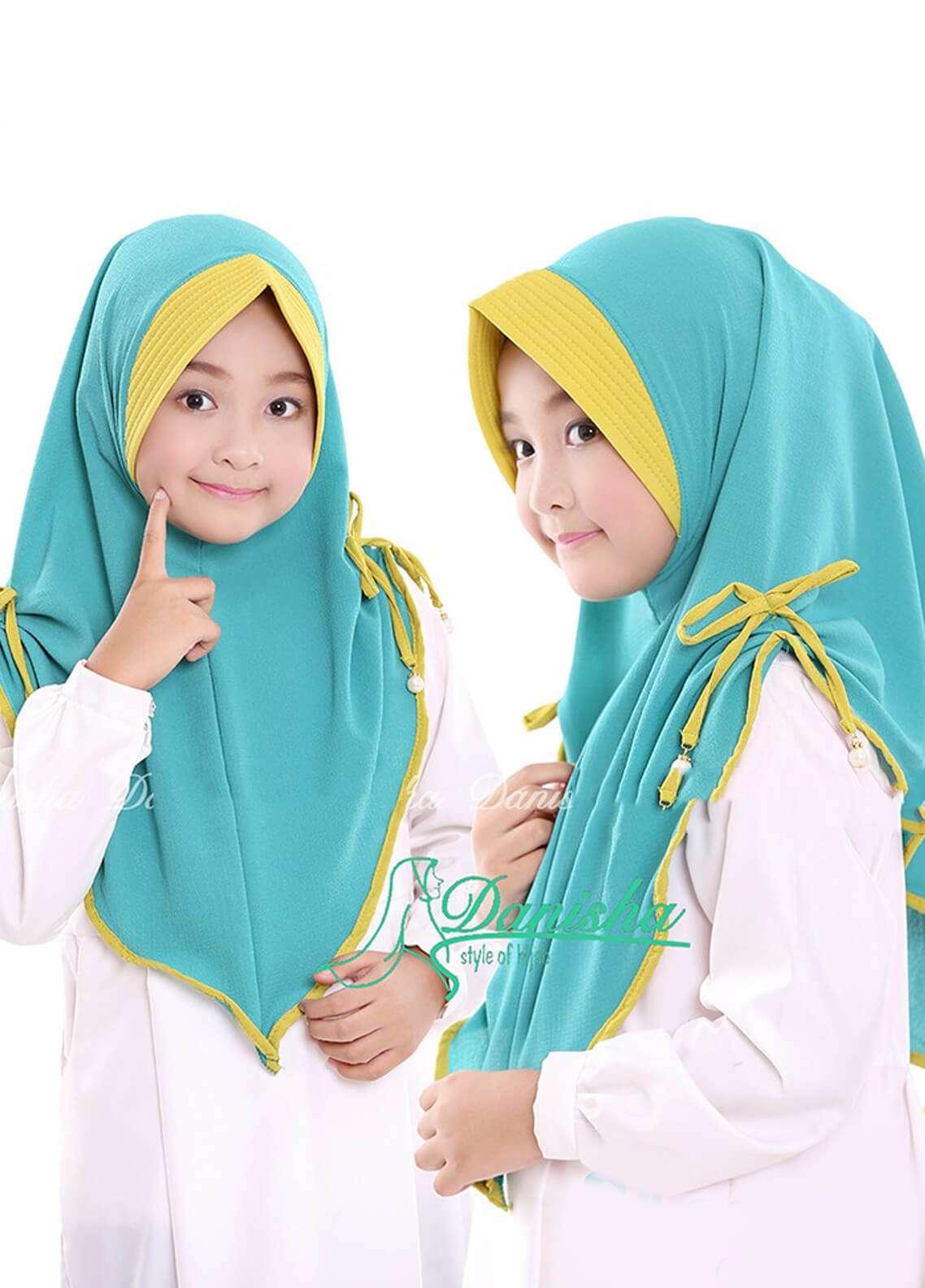 Danisha | Style of Hijab  Bubble Pop  Girls Scarves HH Danisha 05 Mint