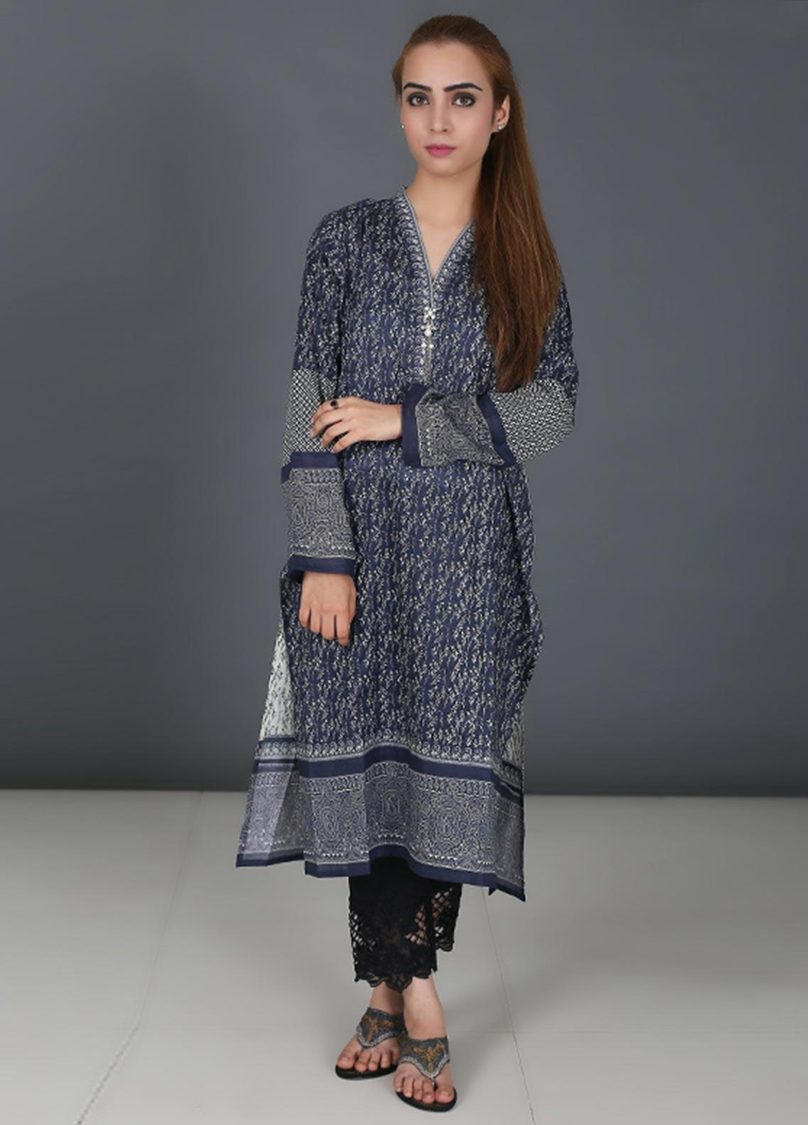 Diya Printed Cotton Stitched Kurtis DY19L 34