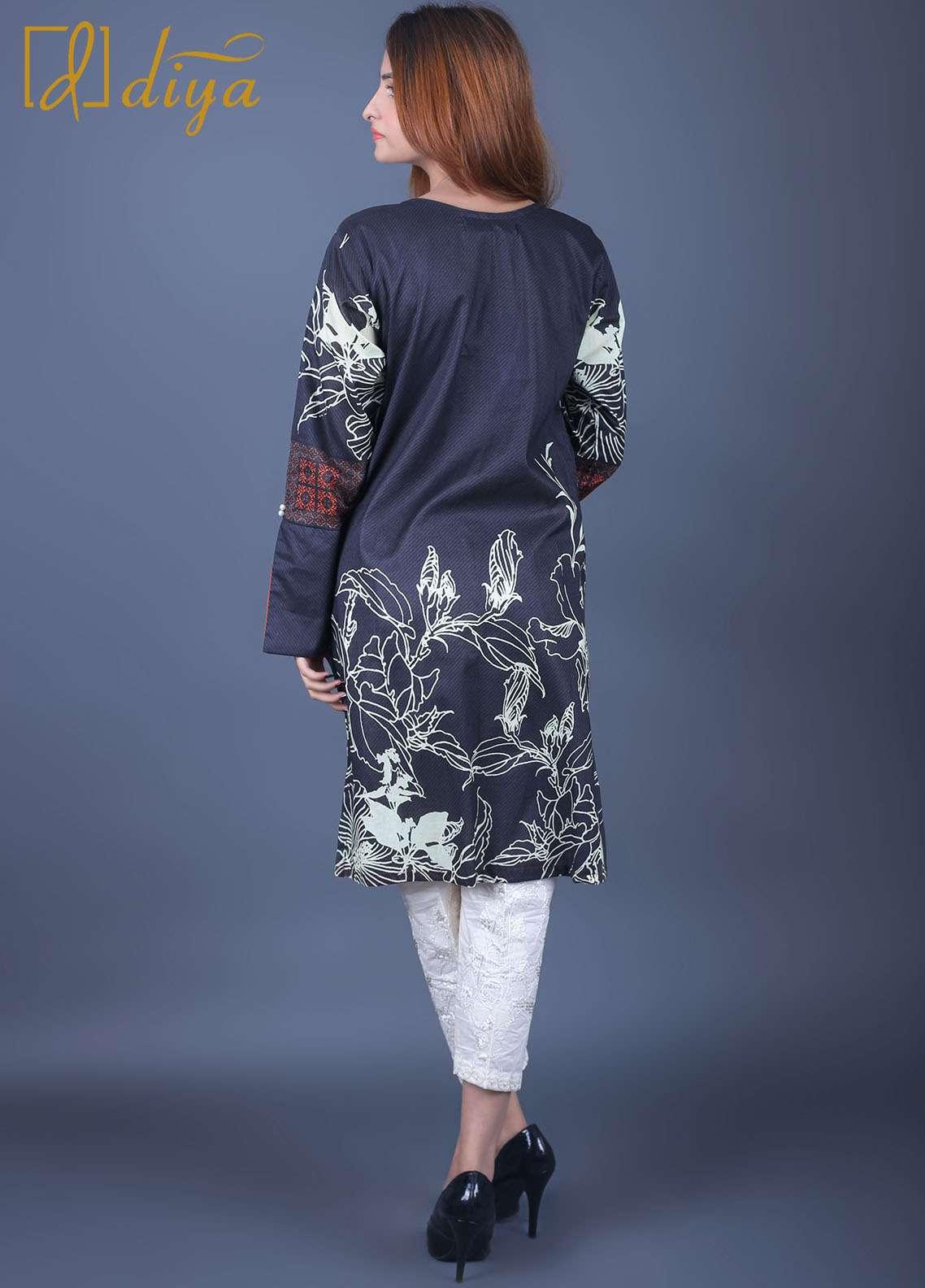 Diya Printed  Stitched Kurtis DY18L 030